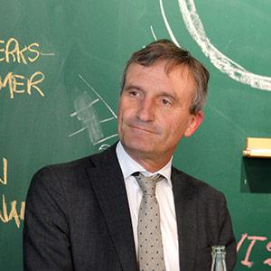 Oberbürgermeister Thomas Geisel bei der Eröffnung des New Work Lab Düsseldorf, Workshopraum, Creative Space